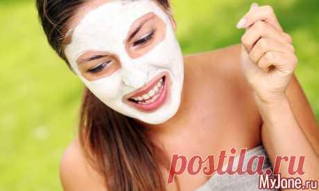 Повседневные маски красоты за три минуты - маски для лица, маски, косметика, уход за лицом,