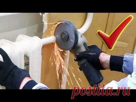 Замена радиатора отопления в квартире по Колхозному или Как поменять батареи отопления