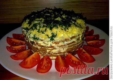 Печеночный торт. Рецепт с пошаговыми фотографиями + оригинальная порционная подача