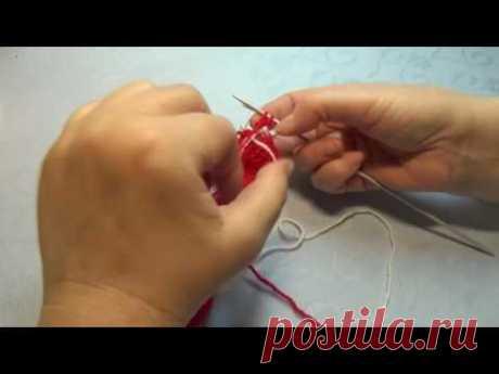 Вязание спицами новогодние пинетки сапожки