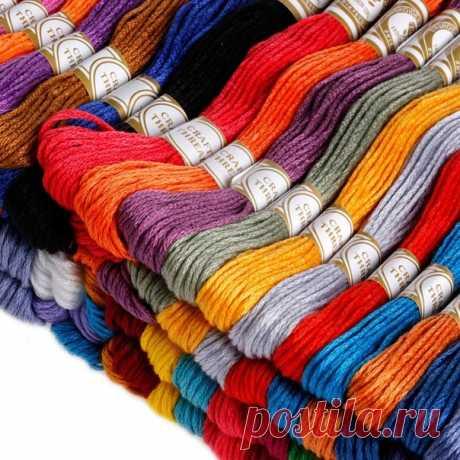 Мулине в наборе 100 разных цветов без повторов  https://s.click.aliexpress.com/e/lOw7U3DQ?product_id=..  #мулине #вышивка #вышивание