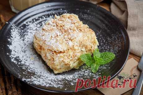 Торт Наполеон рецепт – русская кухня: выпечка и десерты. «Еда»