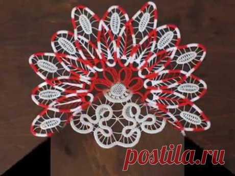 Наталья Сазонова и ее румынское кружево. Romanian lace. - YouTube Наталья Сазонова и ее румынское кружево. Romanian lace