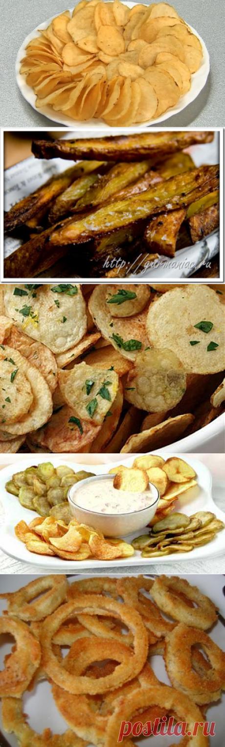 Домашние чипсы из ВСЕГО:)