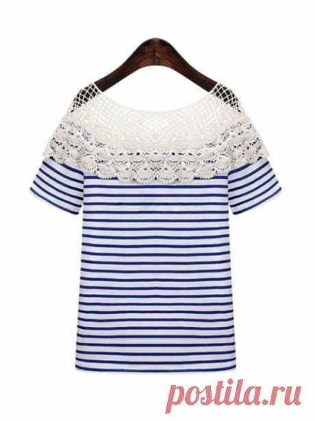 Детали и идеи. Блузки, водолазки, футболки... 5 (трафик) / Блузки / ВТОРАЯ УЛИЦА
