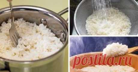 Секреты варки риса — идеальные советы! Рис считается универсальным гарниром для овощных...