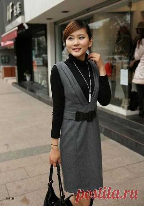 Офисные сарафаны | Модные платья