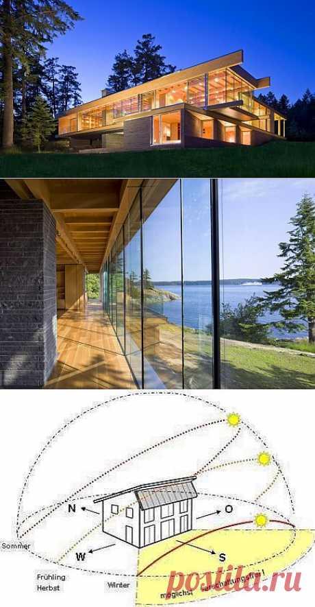 Как переоборудовать обычный дом в солнечный