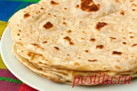 Тортилья мексиканская - рецепт - Retsept.net