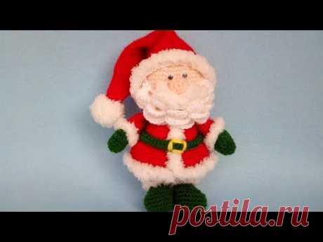 Babbo Natale Amigurumi Uncinetto - Santa Claus Crochet Christmas - Papa Noel Crochet