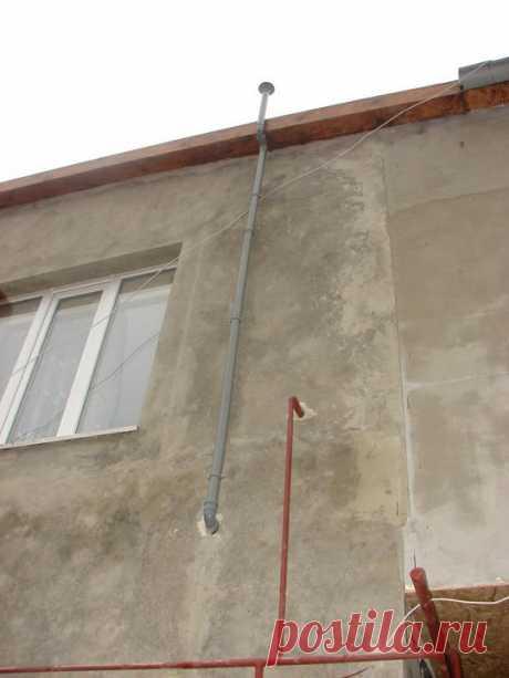 Монтаж канализационной вытяжки — Роскошь и уют