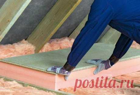 Чем и как правильно утеплить потолок в частном доме: выбор теплоизоляционного материала, технология обшивки, пошаговая инструкция.