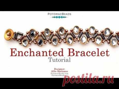 Enchanted Bracelet - DIY Jewelry Making Tutorial by PotomacBeads