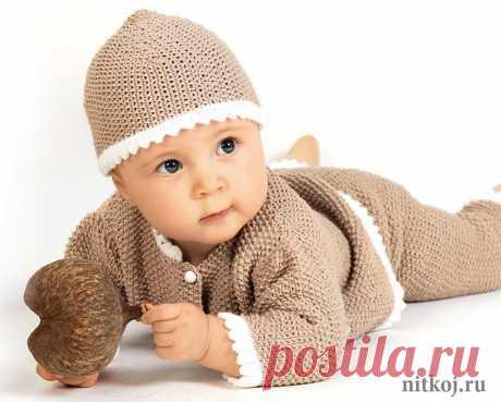 Вяжем малышам комплект спицами » Вязание для всей семьи