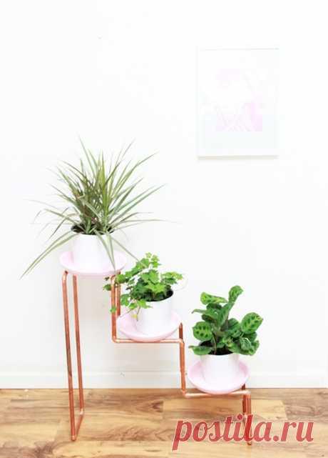 Этажерка для цветов (Diy) Модная одежда и дизайн интерьера своими руками