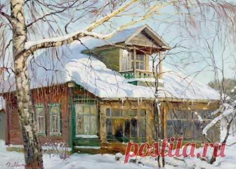 Художник Олег Молчанов. Вот оно какое счастье