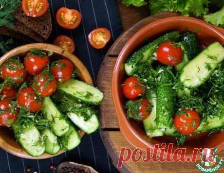 Малосольные овощи по-домашнему – кулинарный рецепт