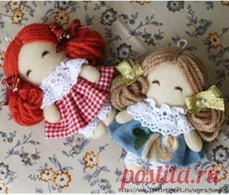 Малeнькие куколки
