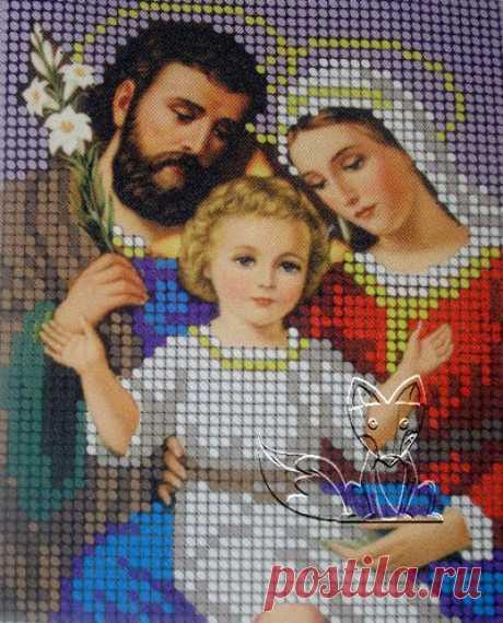 El icono por los abalorios por las manos - el trabajo en la alegría
