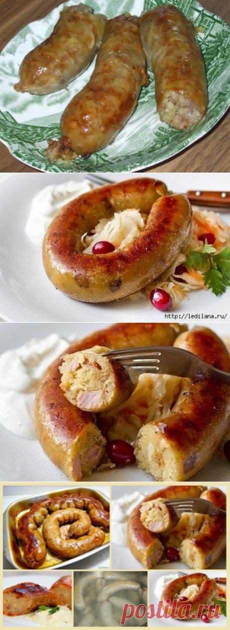 Картофельная колбаса - это так вкусно и сытно! | Четыре вкуса