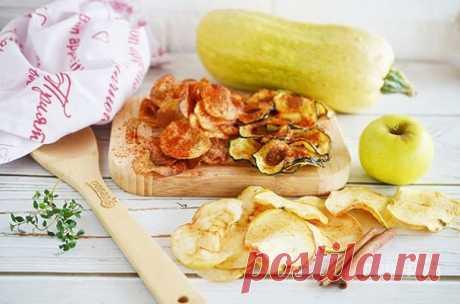 Чипсы из овощей и фруктов (мастер-класс) - пошаговый рецепт с фото на Повар.ру