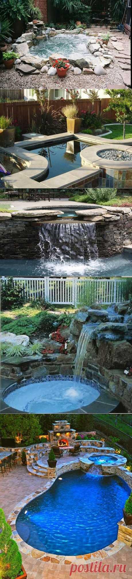 Ванна с гидромассажем в саду, 48 идей реализации | МАСТЕРА
