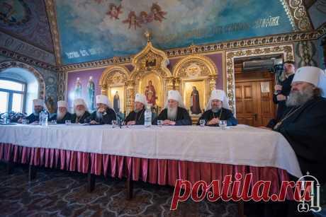 Состоялся Собор епископов Украинской Православной Церкви