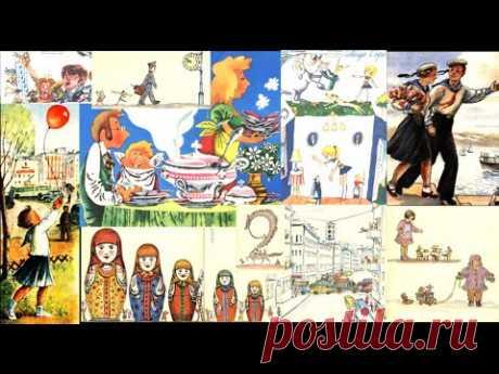 (1) Страницы любимых детских журналов! Мурзилка, Колобок и Весёлый счёт С Маршака - YouTube