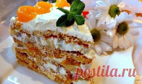 Торт Женский каприз: вкуснейший торт-пирожное из рассыпчатого песочного теста - На Кухне