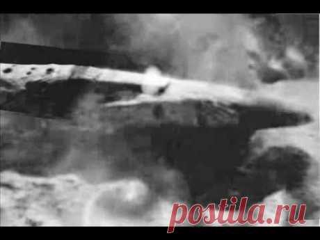 НЛО! Космический корабль на обратной стороне Луны - YouTube