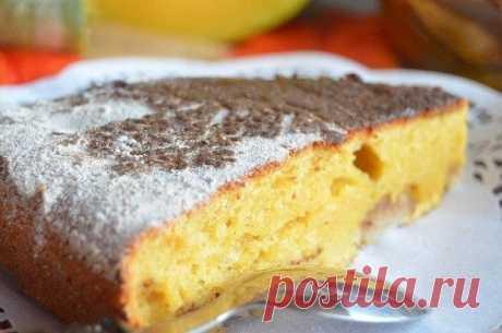 Хит этой осени - Тыквенная шарлотка с яблоками и хрустящей коричной корочкой Будете готовить каждую неделю!