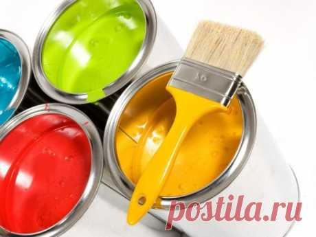 Маркировка лаков и красок — Полезные советы