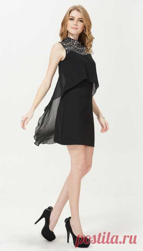 Накидка на платье (почти выкройка) Модная одежда и дизайн интерьера своими руками