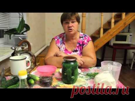 Astounding cucumbers. The recipe of the crackling pickles for the winter.