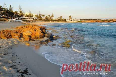 Пляж Нисси Бич - полный гайд о лучшем пляже Айя Напы на Кипре