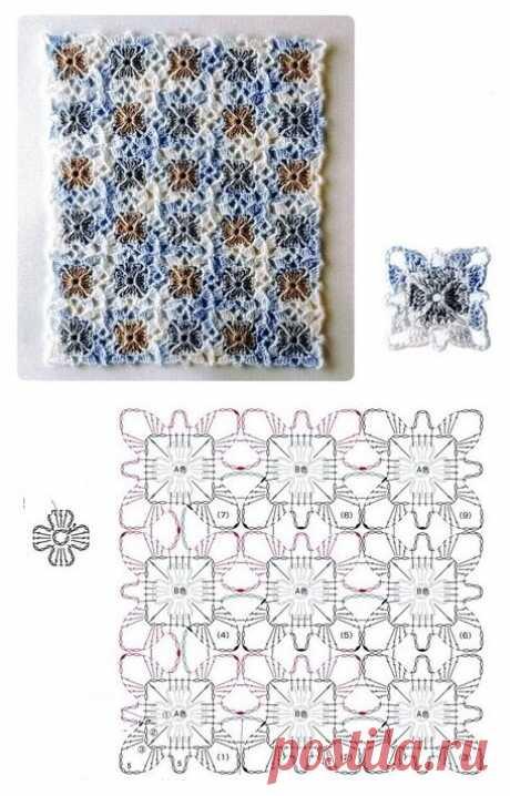 Безотрывное вязание крючком - просто или сложно? | Sana Lace Knit | Яндекс Дзен