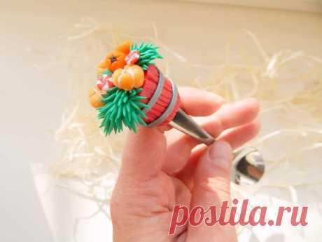 Елка из полимерной глины | 41 фото | Polymer clay craft