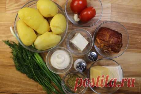Фаршированный картофель в кружке или как еще удивить гостей | Мастерская идей | Яндекс Дзен
