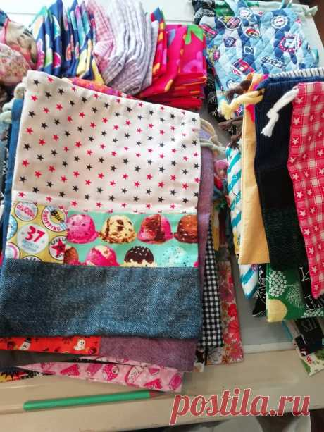 Report! Voluntario para entregar bolsas hechas a mano a los niños en una instalación infantil que no puede vivir con sus padres - Sasaki Sewing Classroom & Home Cooking Shop Hana Noren
