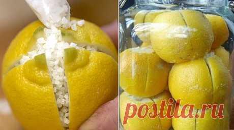 Она разрезала лимон и засыпала его солью. Когда я увидела результат — то сделала то же самое!