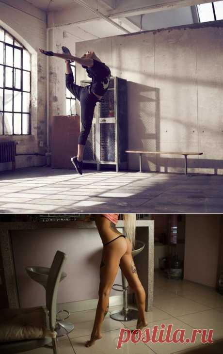 Как уменьшить икры ног