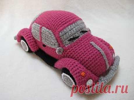 Ravelry: Amigurumi Volkswagen Beetle VW Classic Car pattern by Millionbells