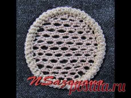 Rumano (shnurkovoe) el encaje. El relleno del círculo. La Clase maestra. Romanian lace. tutorial