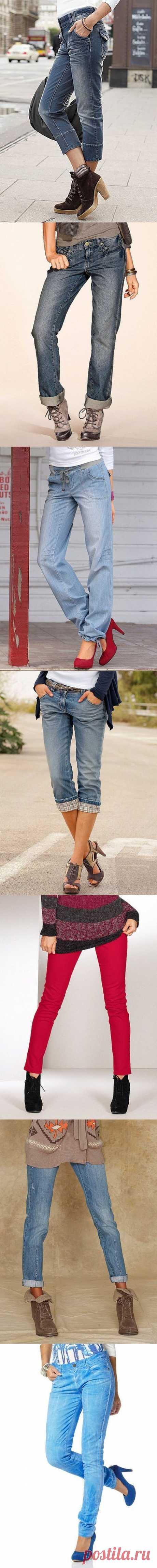 Стильные джинсы в весеннем каталоге ОТТО