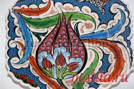 «Турецкий тюльпан» в декоративно-прикладном искусстве – Ярмарка Мастеров