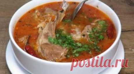 Настоящий, очень вкусный суп «Харчо»: пошаговый процесс приготовления - СУПЕР ШЕФ