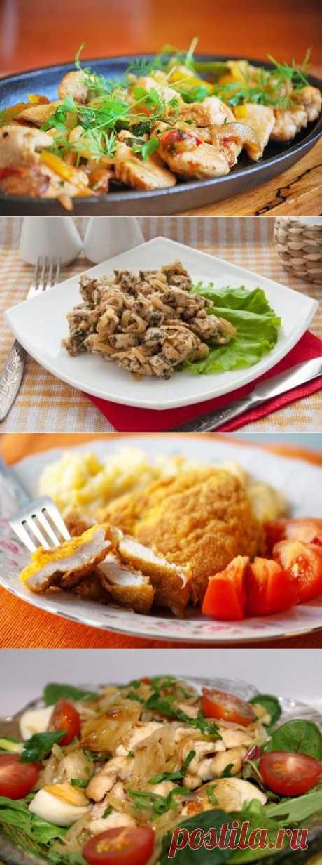 Куриное филе: 6 простых рецептов вкусных блюд