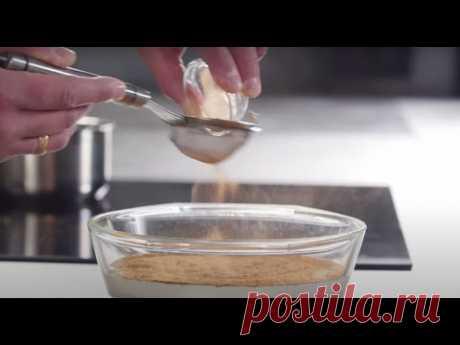 Рецепт нежного и некалорийного творожного десерта