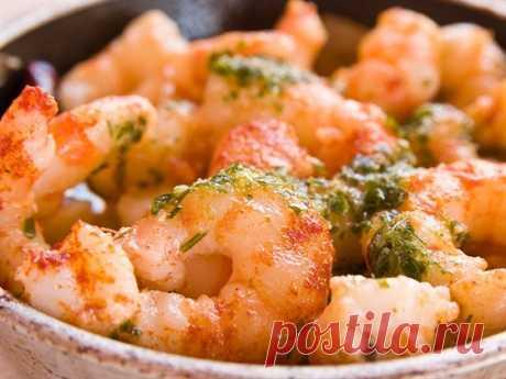 Креветки в соусе рецепт – основные блюда