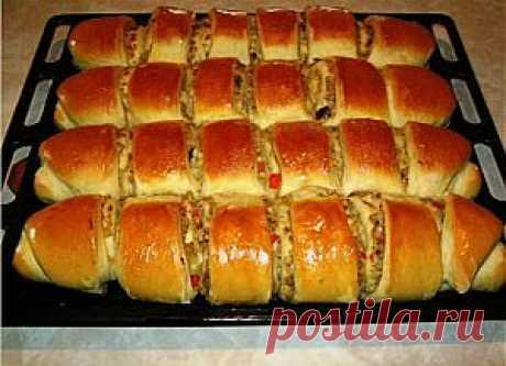 Пироги с капустой и печенью » Рецепты приготовления